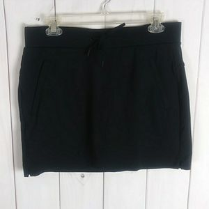 Athleta black skort size small